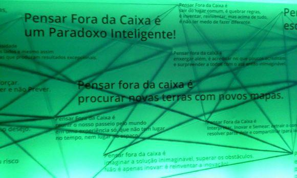pensar fora da caixa - think infinite google 2012